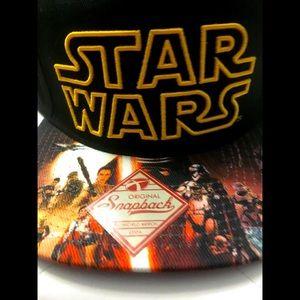 Star Wars Men's Embossed Logo Baseball Cap New